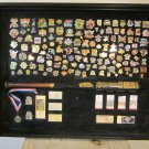 Baseball Bat & Pin Collection/Cooperstown, NY