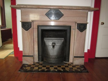 Antique Fire Place with Coal Insert  I. 5