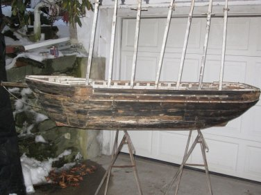 Large Ship Model of The Schooner Thomas W. Lawson