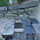 Vintage Box of Roof Slate for Repurpose