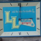 Vintage Ballantine Light Larger Advertising Clock