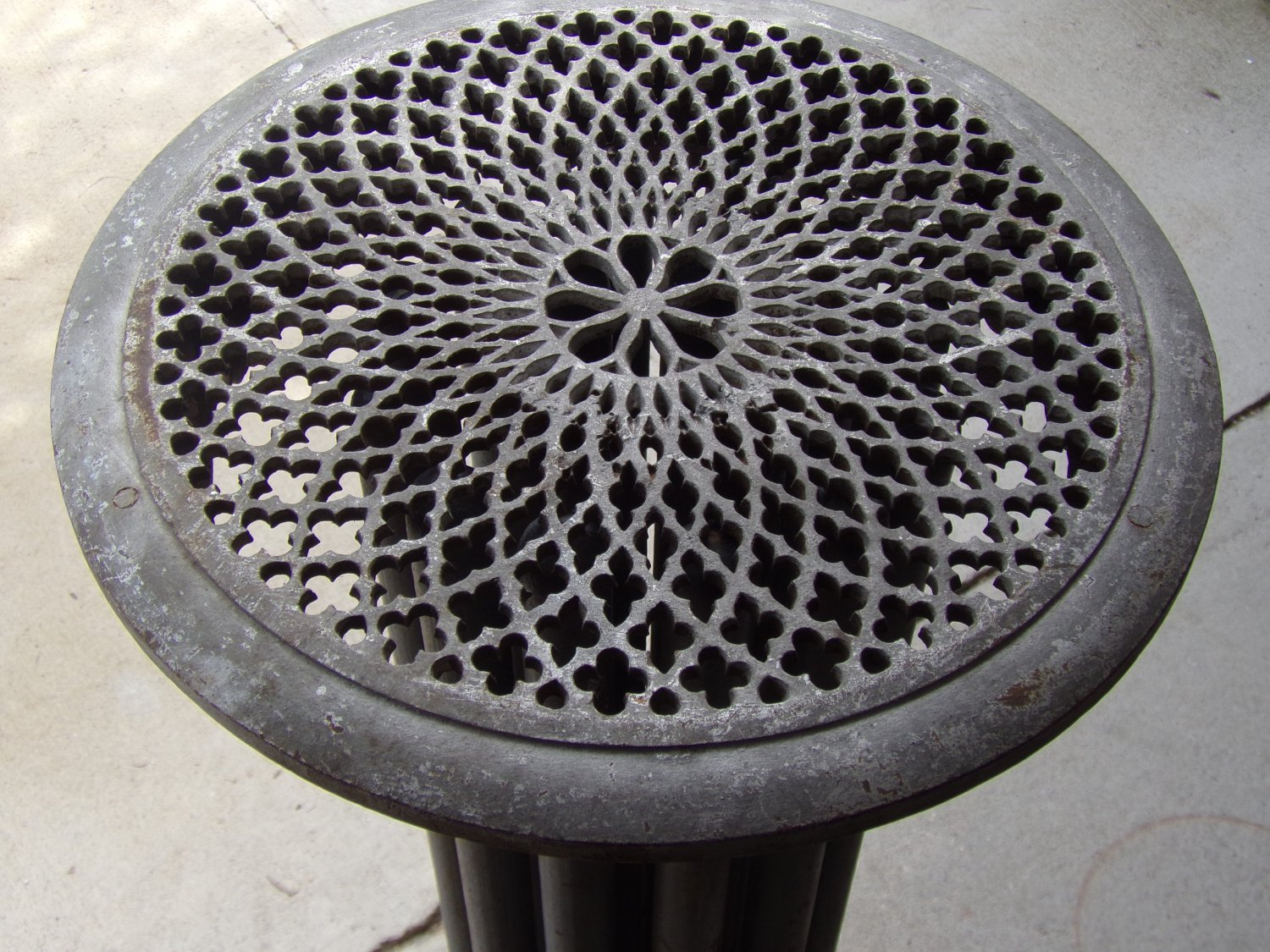 Ornate Victorian Round Radiator