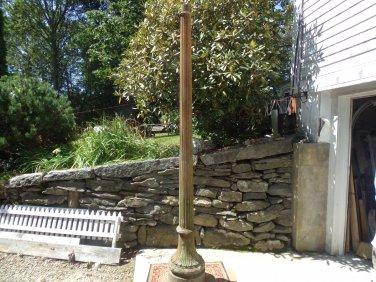 Antique Cast Iron Lamp Post