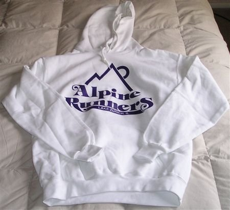 Alpine Runners Hoodie - Size Large