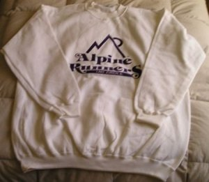 Alpine Runners Sweatshirt - Size Small