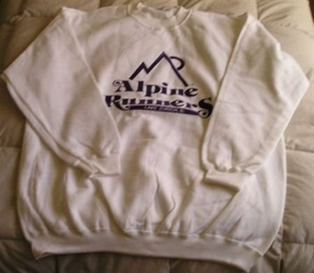 Alpine Runners Sweatshirt - Size Medium