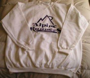 Alpine Runners Sweatshirt - Size Medium