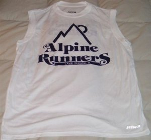 Alpine Runners CoolMax Sleeveless T-Shirt - Size Medium