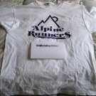 Alpine Runners Cotton T-Shirt - Size Small