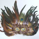 Star is Born Feather Costume Masquerade Mask