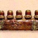 Nature Lovers Menorah - by Quest Designer Judaica
