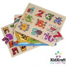 Wooden Judaica Educational Puzzles (3 Pc.) - by KidKraft