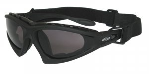 BOS Commander II Black w/ Smoke, Yellow and Clear PC Z87.1 Lenses