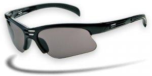 Crush - Ranger Sunglasses Black Frame w/Smoke, Brown & Yellow Lenses-612