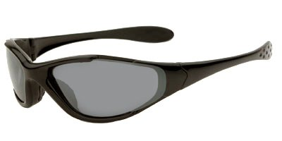 Tracer Ranger Sunglasses Frame/Lenses : Matte Black Frame w/ PC Smoke, Yellow and Brown Lenses