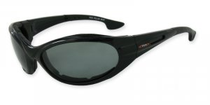 Osprey - Black w/TAC Smoke Polarized 1.0MM Lenses