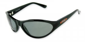 Maui - Black w/TAC Smoke Polarized 1.0MM Lenses