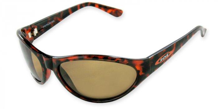 Maui - Dark Tortoise w/TAC Brown Polarized 1.0MM Lenses