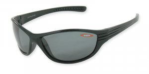 Kauai - Shiny Black w/TAC Polarized Smoke 1.0MM Lenses