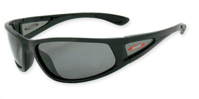Catalina  - Black w/TAC Smoke Polarized 1.0MM Lenses