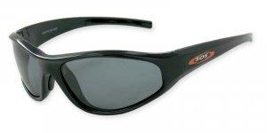 Pacific Reef - Black w/TAC Smoke Polarized 1.0MM Lenses