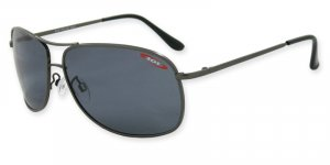 Kona - Gunmetal w/TAC Smoke Polarized 1.0MM Lenses
