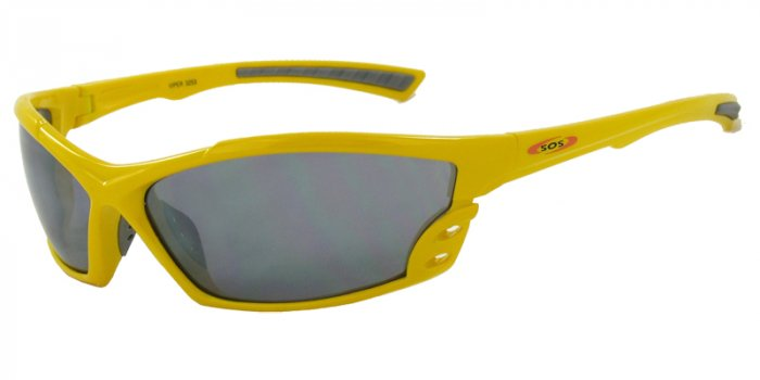 Viper-Yellow w/PC Decenter Flash Mirror Smoke Lenses