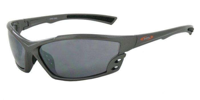 Viper - Gray w/PC Decenter Flash Mirror Smoke Lenses