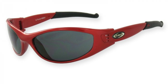 G-Force - Red w/PC Smoke Lenses
