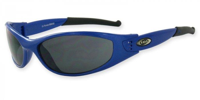 G-Force - Blue w/PC Smoke Lenses