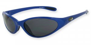 Heat - Blue w/Flash Mirror Smoke Lenses