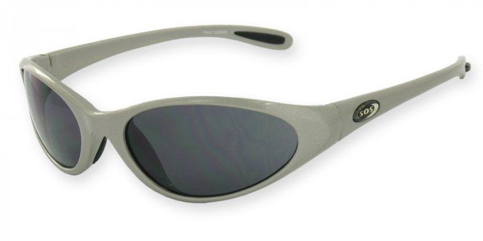 Heat - Silver w/Flash Mirror Smoke Lenses
