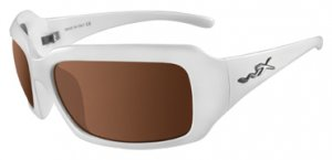 Wiley X - Lacey Pearl White w/Bronze/Brown Lens