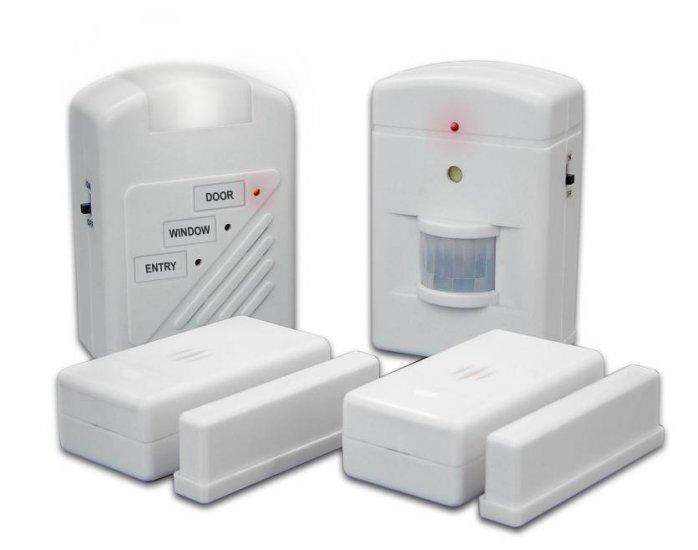 Case of 24  3 Station Home Alarm System