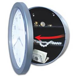 Case of 12 Wall Clock With Hidden Safe
