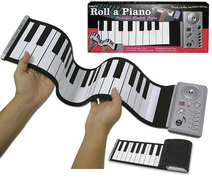 Case of 6 Roll-up Electric Piano