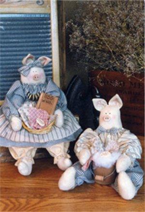Primitive Pigs Craft Pattern