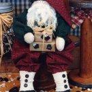 Primitive Raggy Baggy Santa Pattern