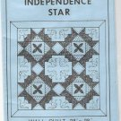 Texas Independence Star quilt pattern 3 sizes MIP 1983