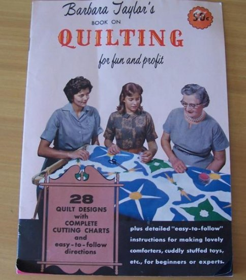 1950s Taylor quilt patterns booklet TexasTreasures