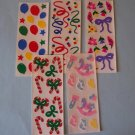 Creative Memories stickers 5 assorted sets party Christmas baby spring