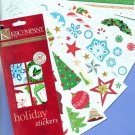 Pad of 110 Christmas stickers from K&Co