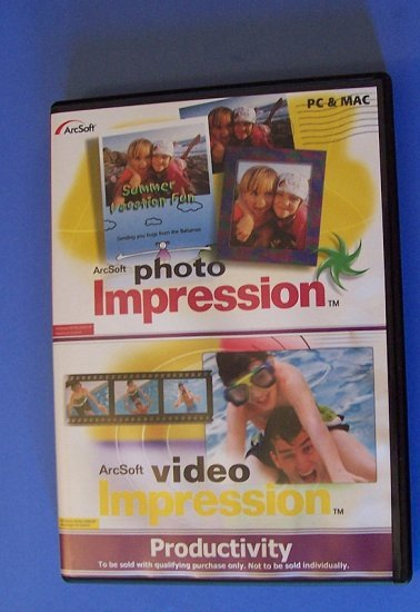 Photo editing software for PC or Mac Photo Impression