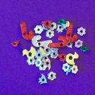 Lot of 3 dozen novelty eyelets for scrapbooks cards-several designs