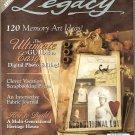 November 2006 Legacy Magazine digital photos journals new products