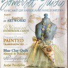June 2007 Somerset Studio mixed media altered art scrapbooks transparencies