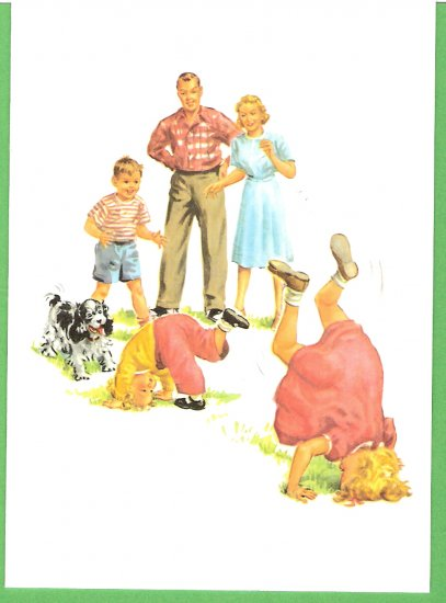 Fun with Dick and Jane greeting card NM