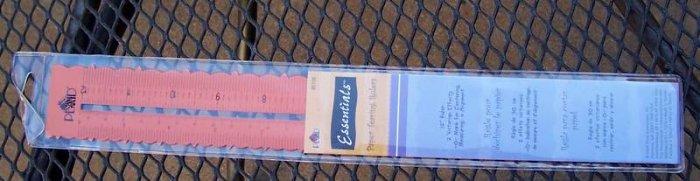 Plaid metal paper tearing ruler MIP number 1