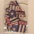 Jolees patriotic flag banner for scrapbook or assemblage MIP