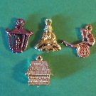 1950s vending machine charms Oriental theme